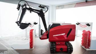 Yanmar's eFuzion concept unveiled at bauma2019
