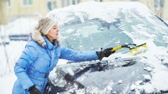 Unbedingt Schnee und Eis entfernen!
