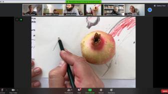 Som en del av kunstprosjektet En annen grammatikk for Oslo, inviterer kunstnerne Monica Nador og Bruno Oliveira til digitalt tegnekurs.