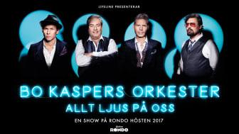Bo Kaspers Orkester gör show på Rondo – Allt ljus på oss