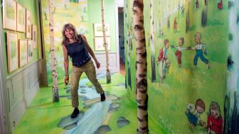 Unikt samarbete med Astrid Lindgren lyfts fram i ny utställning på Astrid Lindgrens Näs