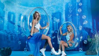 Valentina und Cheyenne Pahde sind die Gesichter der neuen HOLIDAY ON ICE Show ATLANTIS