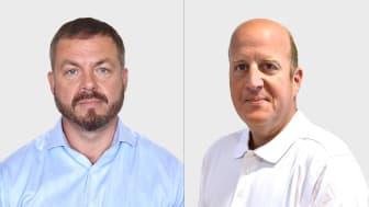 Abkatis nya säljare Jonas Rexefjord och Roger Ignberg