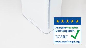 AiroDoctor ECARF-Siegel Allergiker Studie Charite