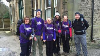 Stockton-on-Tees family walk their way to fundraising success