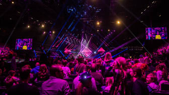 Melodifestivalen Andra Chansen 2017 i Saab Arena. Foto: Visit Linköping & Co