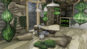 The OME, an experimental biological house.