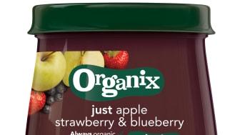 Organix just strawberry & blueberry