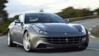 Bridgestone originalmonteras på Ferrari FF