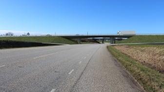 Visualisering av framtida östra ringvägen. Bild: Liljewall arkitekter