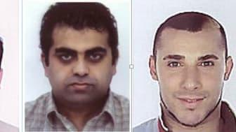 L to R: Abu Talib Ghadiri; Mohsin Raza; Salih Ozbay