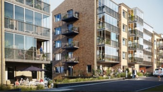 Bonum Brf Guldmyntet i Högsbo, Göteborg, kommer att bestå av 79 seniorbostadsrätter för hushåll där minst en person fyllt 55 år.