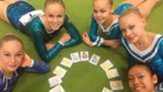 SM i kvinnlig artistisk gymnastik 2014 Grenfinaler - Två av tre guld idag till Eskilstunas Emma Larsson