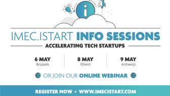 Imec.istart info session - Antwerp