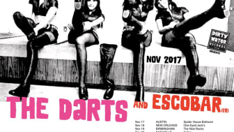 Dirty Water Club Roadshow 2017: The Darts (US), Escobar (FR), Mean Motor Scooter #StompTheSouth with November Tour     Dirty Water Records USA