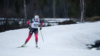 KLAR FOR VERDENSCUP: Karoline Erdal er på vei til årets første konkurranse i verdenscupen. Foto: Christian Haukeli