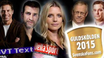 Guldskölden 2015: Lars Lagerbäck bästa experten – trippel till Erik Niva