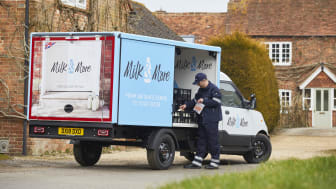 Milk & More electric delivery vehicle