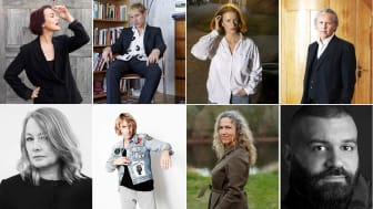 Anna Järvinen, Elis Monteverde Burrau, Nina Pascoal, Klas östergren, Åsa Linderborg, Love Antell, Marit Kapla, Khaled Alesmael