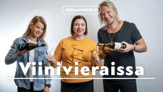 Viinivieraissa-podcastissa keskustellaan ja maistellaan viinejä kiinnostavassa seurassa