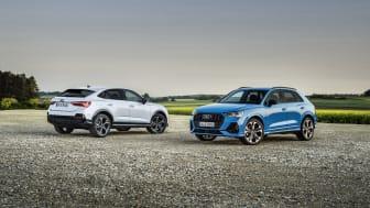Audi Q3 Sportback 45 TFSI e og Audi Q3 45 TFSI e