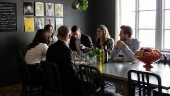 Bild från köket i Xenits huvudkontor i centrala Göteborg.