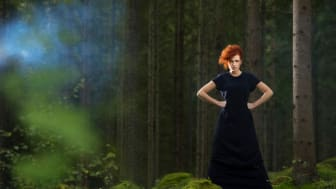 Fashion from forest. (Photo: Anna Sigge)