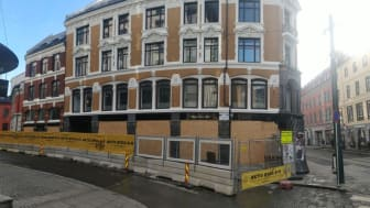 Aktiv Bygg AS, Renovasjon av fasade, Gamle Dame Pilestredet 12