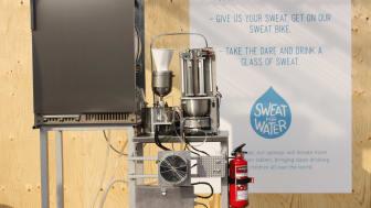 UNICEF sweat machine