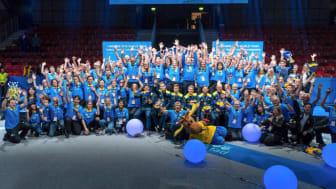 Bordtennis-VM vinner nytt fint pris till stor glädje för alla inblandade.
