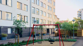 Brf Vågmästaren med 144 lägenheter är Ängelholms största bostadsrättsförening.