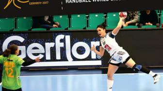 Taraflex sportgolv spelunderlag i Handbolls VM i Tyskland
