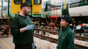 The rail company is currently on target to hire 200 apprentices before the end of 2021