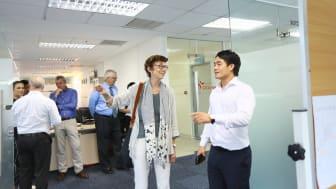 The Norwegian Embassy visiting Trainor Vietnam