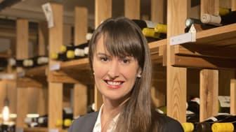 Daniela Nylin ny chefssommelier på Grand Hôtel