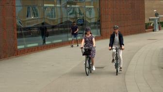Borås klättrar flera steg i nationell cykelundersökning.