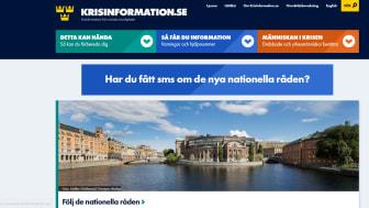 Kraftig ökning av trafik till Krisinformation.se