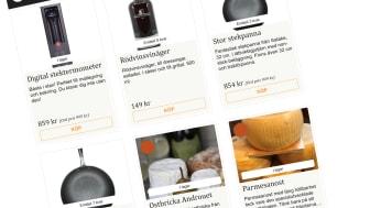 Kockens val kommer att vara Henriks favoriter i köket, nu kan du köpa dem i Matkomforts webbutik.
