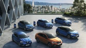 Tre nye hybrid-modeller fra Renault