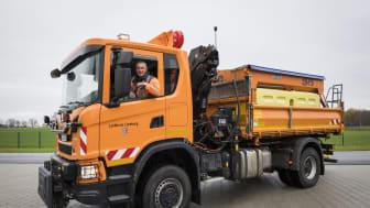 Der Scania G 370 als vielseitige Fahrzeuglösung im kommunalen Einsatz.