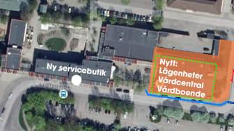 Ny lokal för butik på Drottninghögs centrum