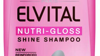 Elvital Nutri-Gloss Shampoo, 250ml