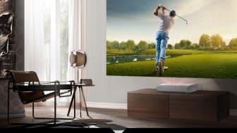 Samsungin The Premiere -laserprojektori tuo urheilutunnelman kotiin