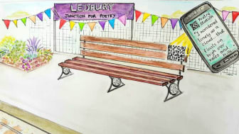 West Midlands Railway passengers invited to discover their artistic sides with Ledbury Poetry Festival