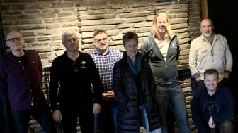 Annika Fredriksson, Peter Engström, Kent Lindvall, Graeme Richardson, Cecilia Andersson, Pär Innala, Dan Jonasson, Göran Widén och Jonas Gejke på baskurs på Brändön Lodge om tematiska kriterierna Nature's Best Home.