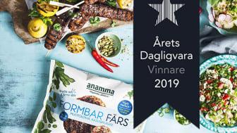 Anamma Formbar Färs är Årets Dagligvara 2019