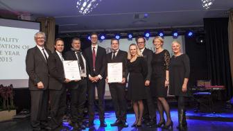 Två svenska organisationer tilldelas internationellt innovationspris