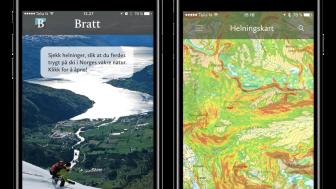 NGI BRATT-app illustrasjon