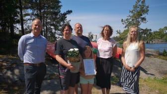 Kristofer Svenson, Cecilia Ström, Bengt-Åke Ström, Emma Ström, Maria Gustavsson & Anna Ohlin EK
