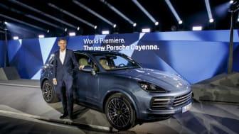 Præsentation af den nye Porsche Cayenne